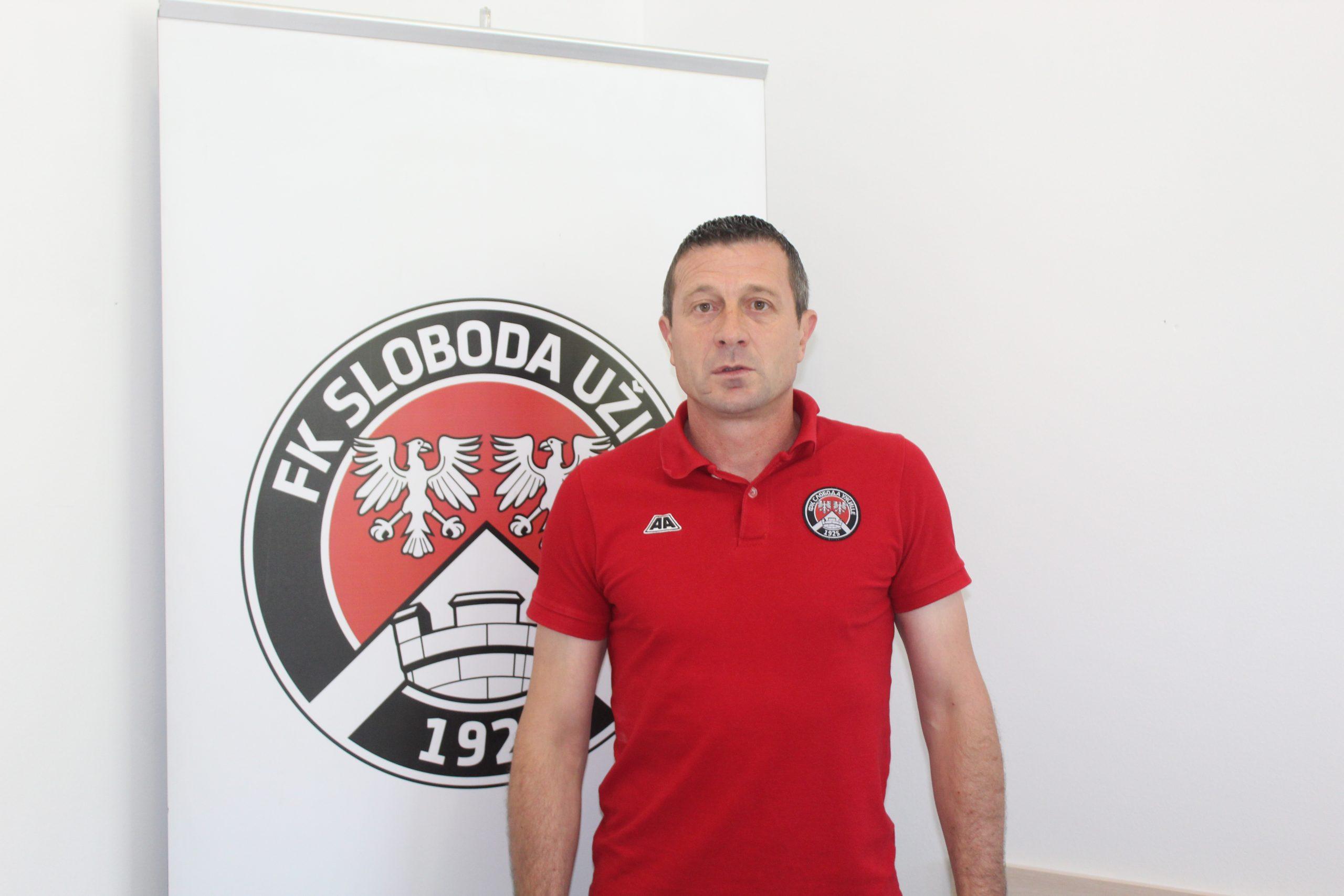 Jovan Nikitovć, trener GFK Sloboda