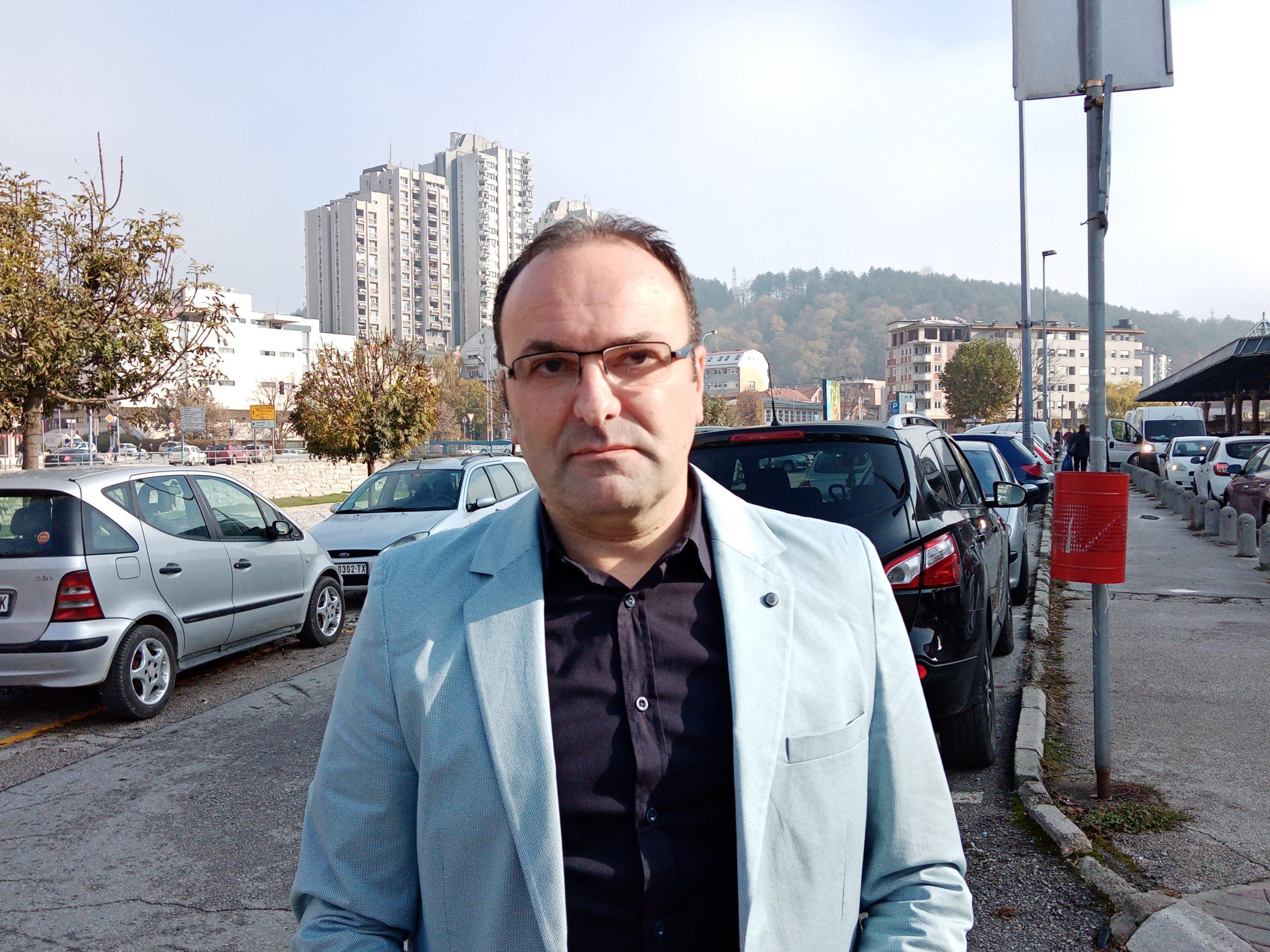 Slobodan Šiljković - član Gradskog veća zadužen za saobraćaj
